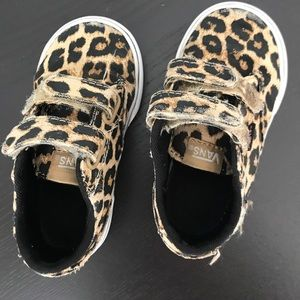 Vans: Toddler size 6 shoes